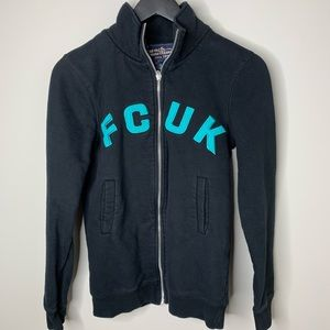FCUK French Connection Zip Up Sweater